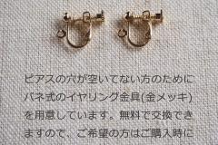 s-イヤリング金具