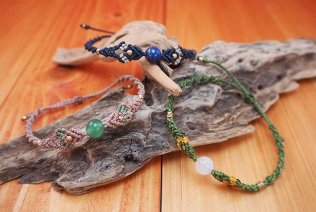 """eN"" - えん Tac's Handmade jewelry | メキシコ仕込みの天然石ジュエリー"